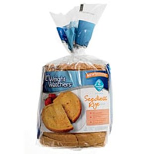 Weight Watchers Seedless Rye Bread