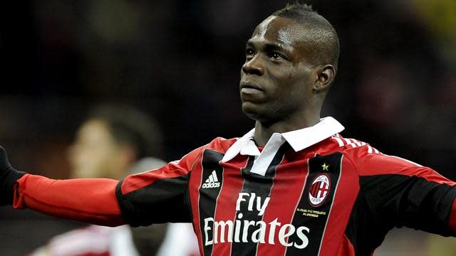 Serie A - Injured Balotelli out of Lazio clash