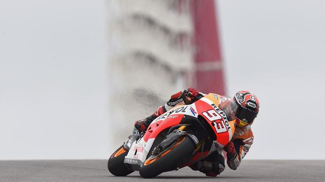 Motorcycling - Marquez storms to Austin pole