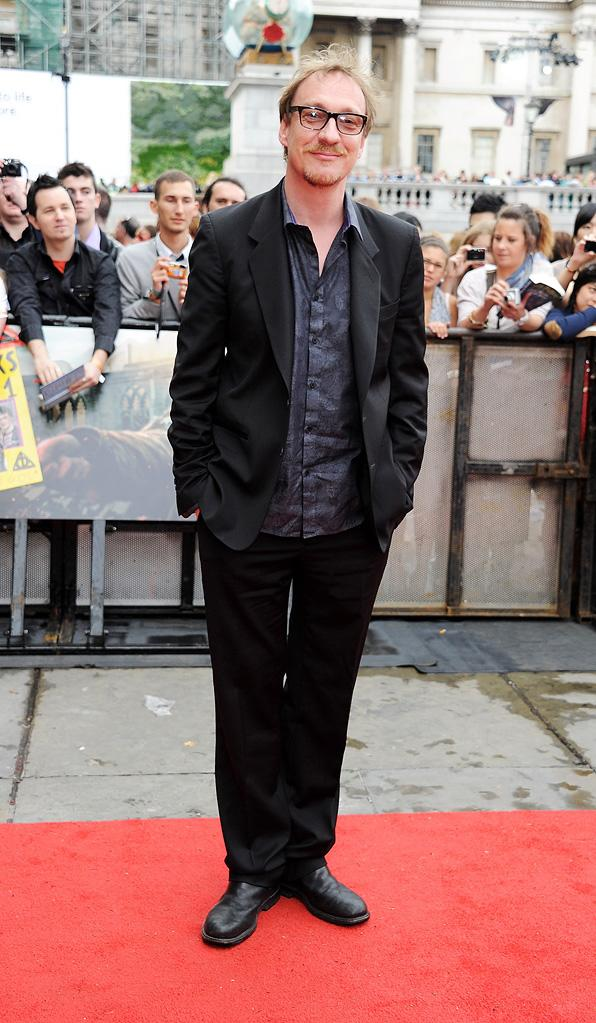 Harry Potter and the Deathly Hallows Part 2 UK Premiere 2011 David Thewlis