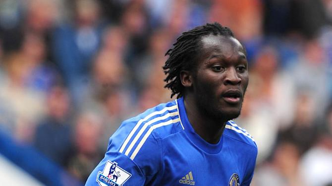 Romelu Lukaku struggled to break into Chelsea's first team after a £18million move