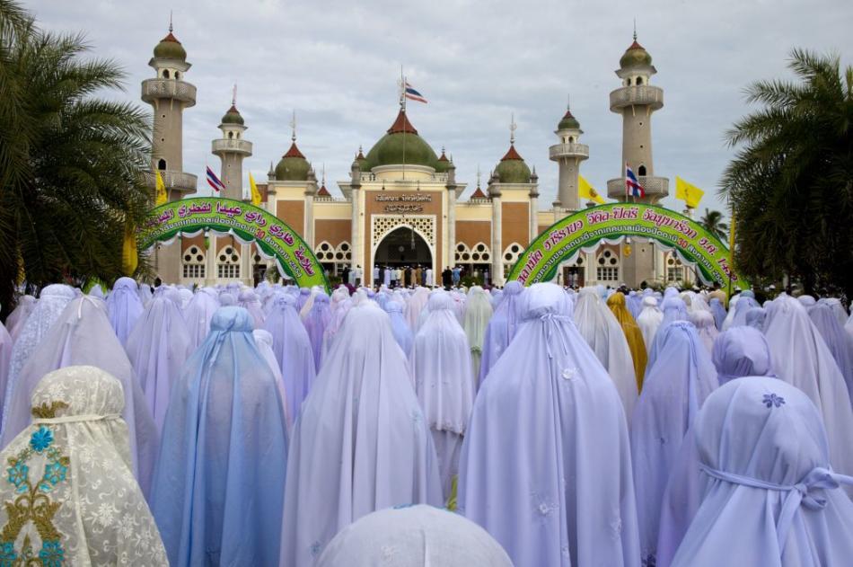 Mosque in Pattani, Thailand