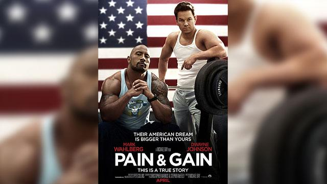 Wahlberg & Johnson Flex For 'Pain & Gain'