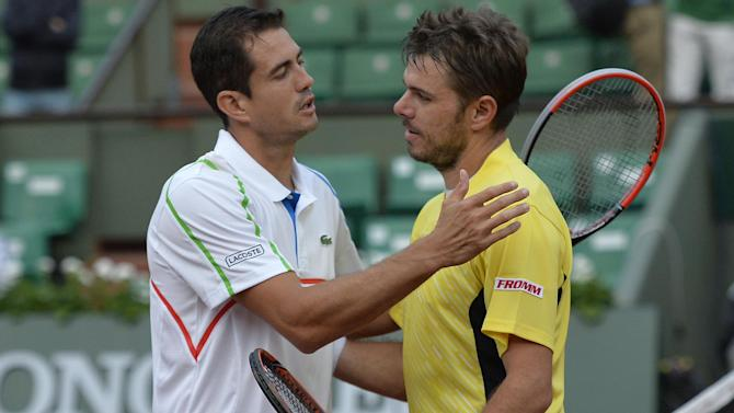 French Open - Garcia-Lopez shocks Wawrinka at Roland Garros