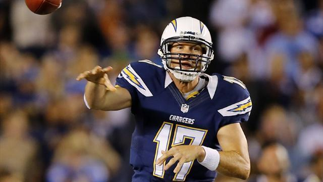 NFL  - Rivers on target as Chargers jolt Chiefs