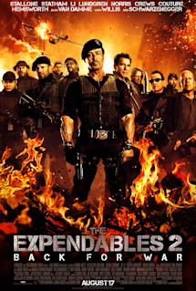 Poster of The Expendables 2