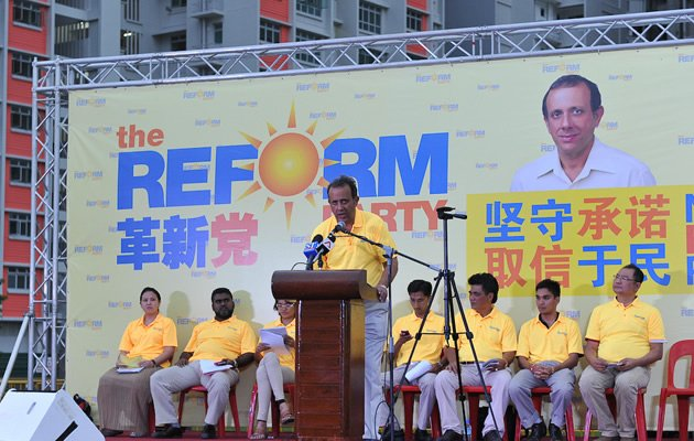 Kenneth Jeyaretnam: We are no motley crew