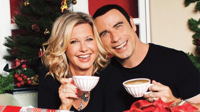 Olivia Newton-John, John Travolta Reunite for Charity Christmas Album