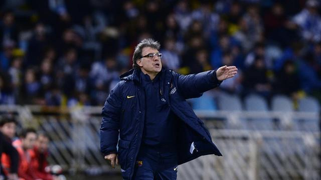 Liga - Martino seeks positives from difficult season for Barcelona