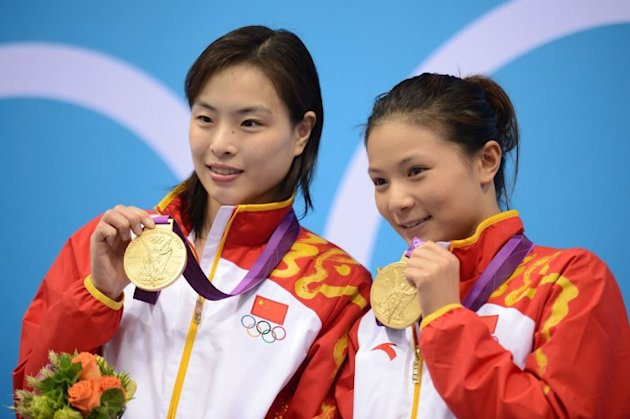Wu Minxia and Zi He (AFP)