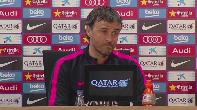 Enrique: Barca will attack
