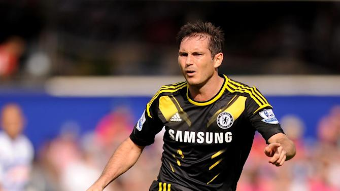 Frank Lampard captained Chelsea in their Champions League win over FC Nordsjaelland