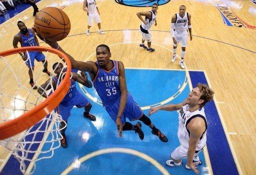 The reigning NBA champion Dallas Mavericks were swept out of the first round of the playoffs on Saturday