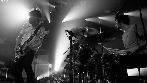 Brian King and David Prowse of Japandroids perform at Webster Hall in New York, Photo by Griffin Lotz for RollingStone.com