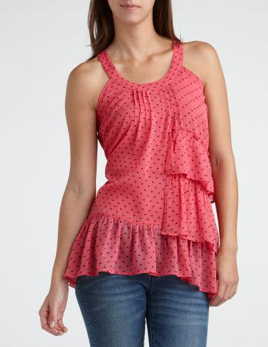 Heart Print Tunic at Charlotte Russe