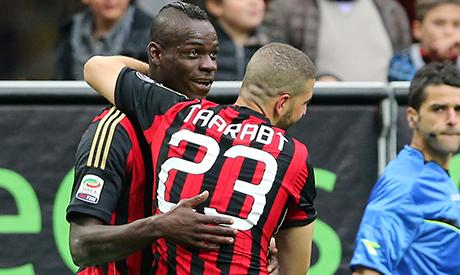 AC Milan's Taarabt happy with first home goal