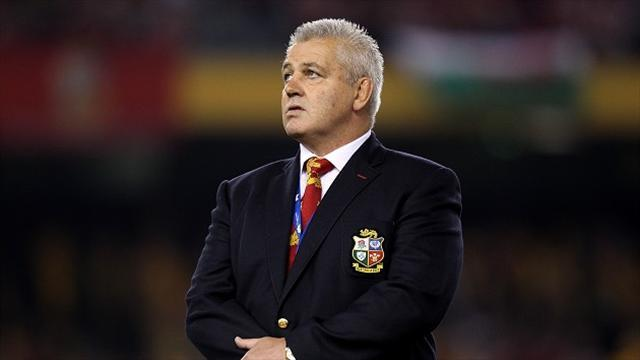 Rugby - Gatland excited about Lions future