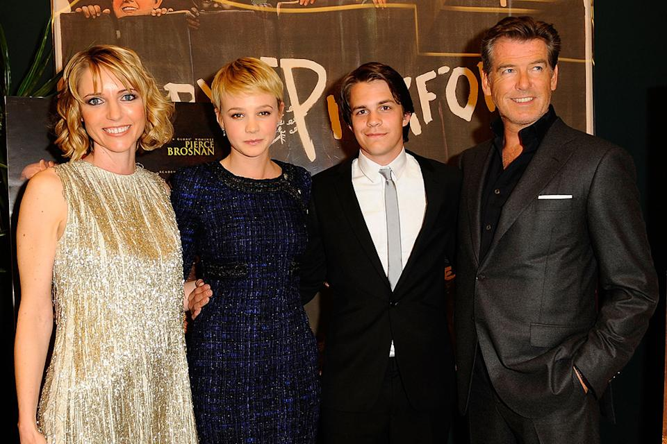 The Greatest LA premiere 2010 Shana Feste Carey Mulligan Johnny Simmons Pierce Brosnan