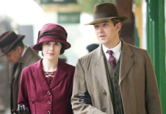 Michelle Dockery and Dan Stevens   Photo Credits: Giles Keyte/Carnival Film & Television Limited for Masterpiece