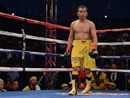 Filipino star Nonito Donaire, pictured in July 2012, enters next week's world title bout against Japanese southpaw Toshiaki Nishioka confident but wary of his 36-year-old rival despite his layoff of more than a year