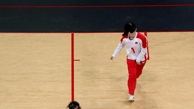 2012 London Paralympics - Day 1 - Goalball