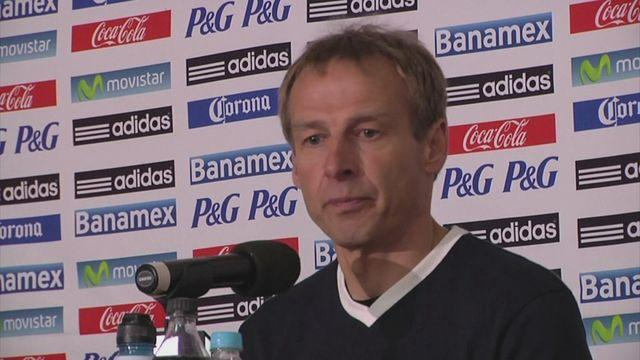 Reaction from Dempsey, Gonzalez and Klinsmann after USA draw 0-0 with Mexico. [AMBIENT]