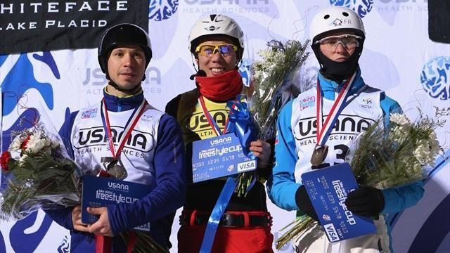 Freestyle Skiing - Zongyang doubles up in Lake Placid