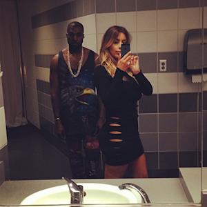 Kim Kardashian Goes Without Underwear, Takes Bathroom Selfie With Kanye West: Picture