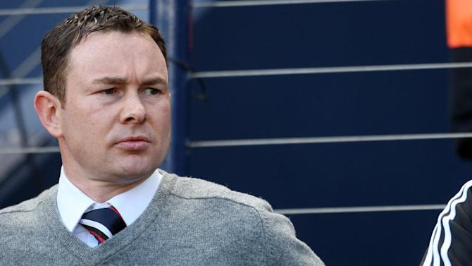 Derek Adams said he is proud of his Ross County side
