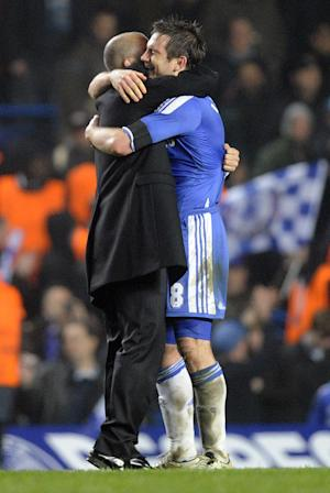 Frank Lampard (right) and Roberto Di Matteo