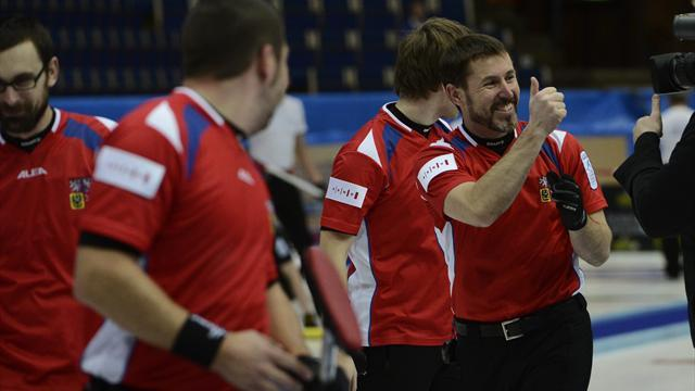 Curling - All to play for in Germany