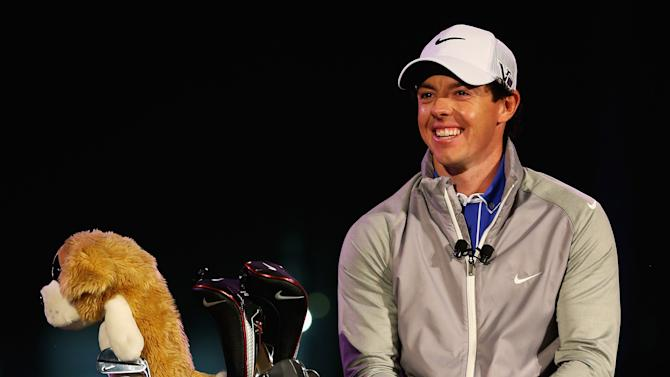 Rory McIlory is unveiled as new Brand Ambassador for Nike