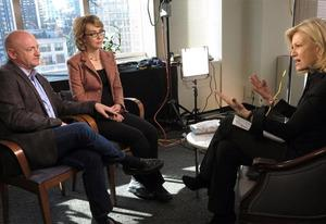 Gabby Giffords, Mark Kelly, Diane Sawyer | Photo Credits: David Ford
