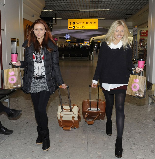 Una Healy and Mollie King