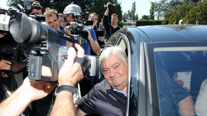 Montpellier's Football Club President Louis Nicollin Answers AFP/Getty Images