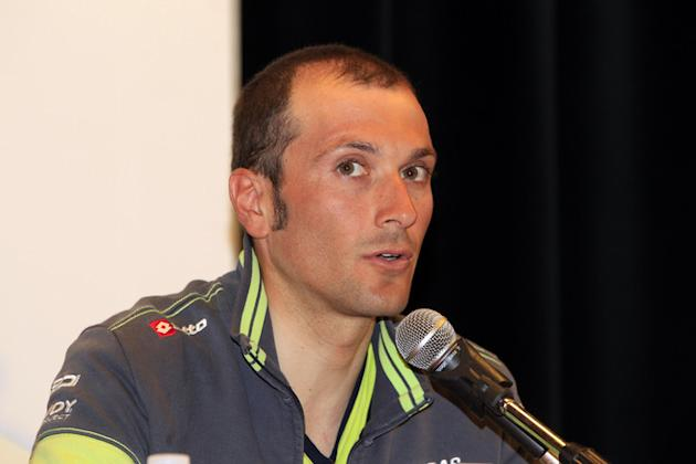 Italian Cyclist Ivan Basso Speaks AFP/Getty Images