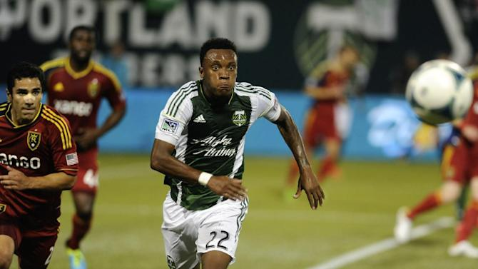 MLS Salt Lake Portland Soccer