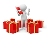 Double Your Holiday Power with a Virtual Contact Center and CRM image phone gift 300x240