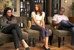 Caterina Scorsone, Kate Walsh, Taye Diggs | Photo Credits: Matt Kennedy/ABC
