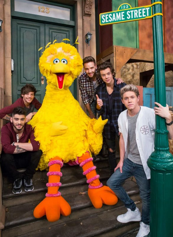 One Direction Collaborated With Sesame Street, Here Are Our Top Ten Moments