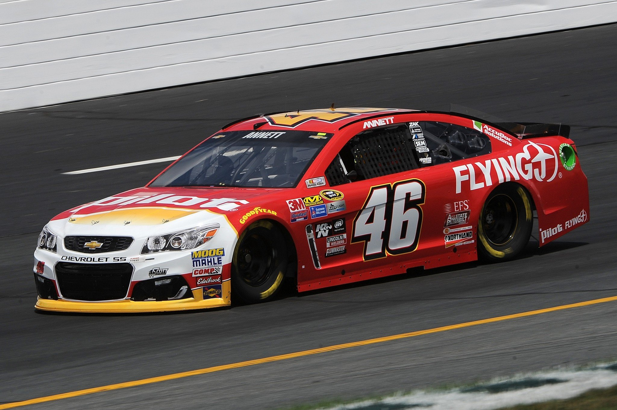 Michael Annett is 37th in the points standings (Getty).