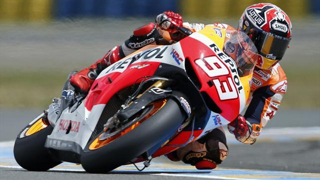 Motorcycling - Marquez shocked to be leading