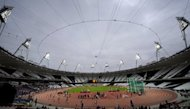 A general view of the athletics track at the Olympic Stadium in the Olympic Park in London in May 2012. British teenage sprint sensation Adam Gemili has confirmed he intends to compete at the London Olympics