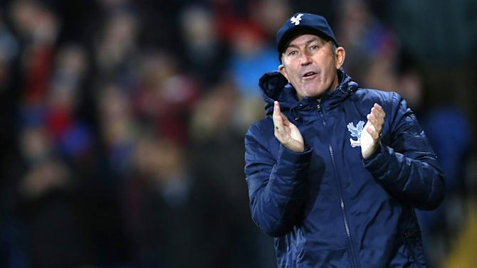 Premier League - Tony Pulis leaves Crystal Palace by mutual consent