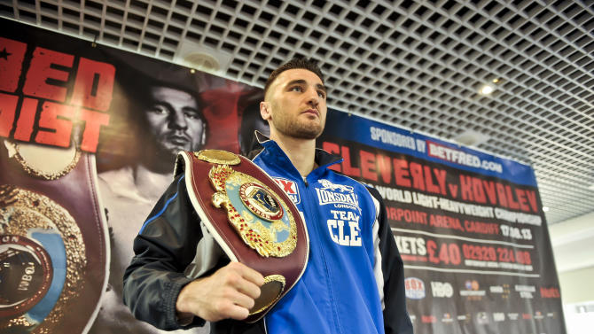Boxing - Nathan Cleverly Press Conference - Motorpoint Arena