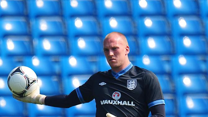 John Ruddy's Euro 2012 hopes were ended by a finger injury