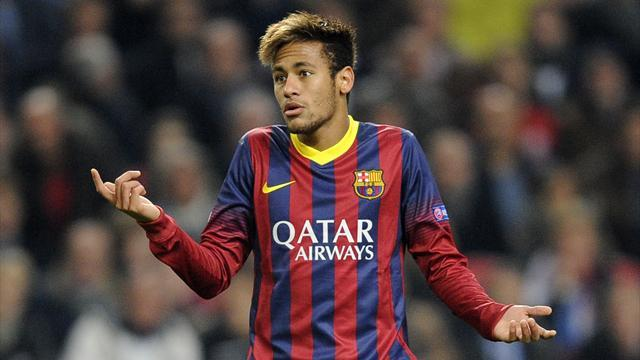 Liga - Neymar out for up to four weeks with ankle injury
