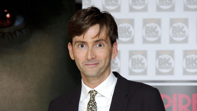 "FILE - In Thursday, Aug. 11, 2011 file photo, British actor David Tennant arrives for the UK premiere of Fright Night at a central London venue.  ""Doctor Who"" star David Tennant is returning to the Royal Shakespeare Company this year to play a troubled king in ""Richard II."" Tennant, who played the time-travelling hero of the beloved, long-running BBC sci-fi series for four years, starred in an acclaimed RSC production of ""Hamlet"" in 2008. Artistic director Gregory Doran Wednesday, Jan. 23, 2013 announced details of other productions for late 2013, including adaptations of Hilary Mantel's historical novels ""Wolf Hall"" and ""Bring Up the Bodies,"" which focus on King Henry VIII's enigmatic powerbroker, Thomas Cromwell. (AP Photo/Jonathan Short, File)"