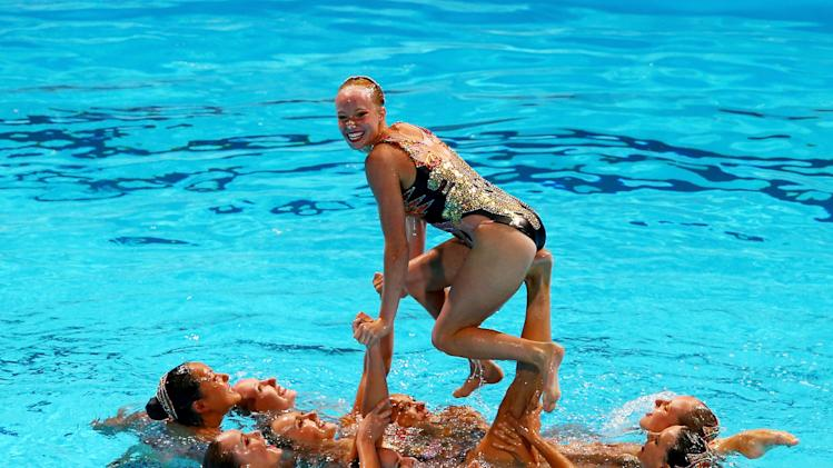 Synchronized Swimming - 15th FINA World Championships: Day Eight