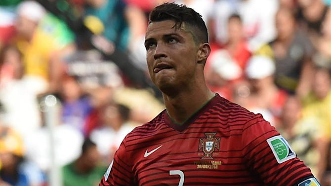 Football - Ronaldo: Portugal tried their best